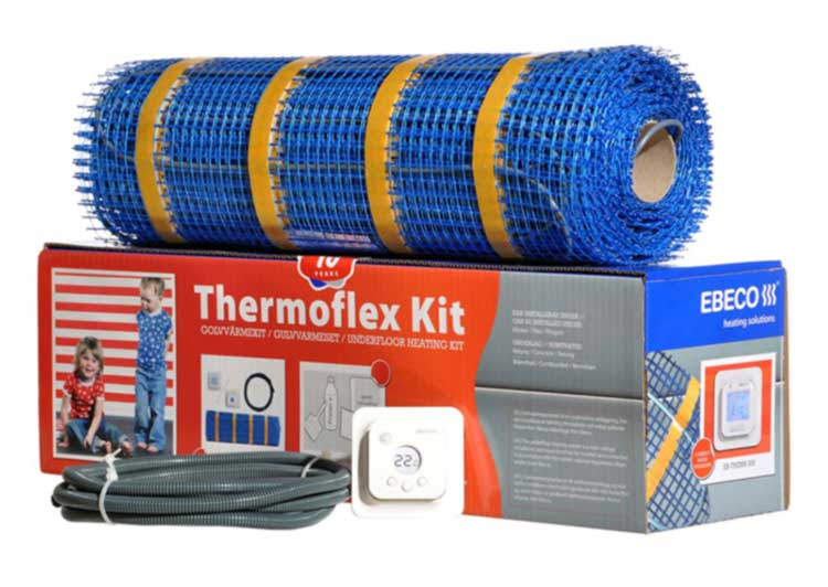 Grelna Preproga Thermoflex Kit 100/120/3.4m2